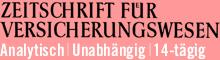 Allgemeiner Fachverlag: Zeitschrift für Versicherungswesen