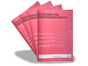 Abonnement - Zeitschrift für Versicherungswesen
